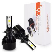 Safego 2x H7 LED scheinwerfer Umbausatz Birnen AutoLicht 60W 6400lm Lampe 12V