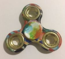 Tri Fidget Spinner Plastic Handheld Toy (rainbow)