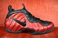 WORN TWICE Nike Air Foamposite Pro University Red Black 624041-604 Size 11