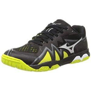 MIZUNO Table Tennis Shoes WAVE MEDAL RISE 81GA2110 Black Yellow US8.5(26.5cm)