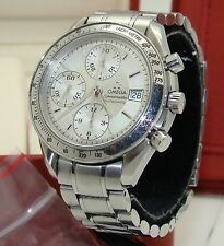 OMEGA SPEEDMASTER DATE AUTOMATIC STAINLESS STEEL CHRONOGRAPH WATCH wBOX & PAPERS