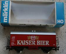 Märklin 4569 Sondermodell Bierwagen Kaiser Bier in der OVP, siehe Foto