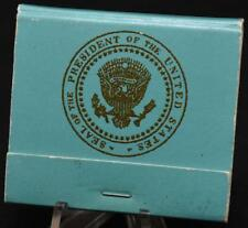 1970s Richard Nixon Era Air Force One Matchbook Presidential Airlift POTUS Seal