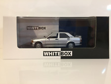 Mercedes 190E 2.3 16V 1988 Silver Whitebox 1:43 Scale New