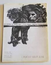 Partition sheet music CLAUDE NOUGARO : L'amour Meurt Jeune * 80's