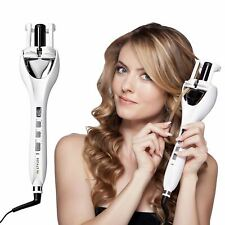 IN STYLER TULIP AUTOMATIC CURLER 3 HEAT/TIMER/ROTATION TONG IRON WAVE BNWT