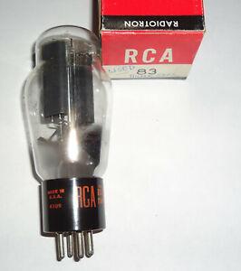 RCA 83 Rectifier Tube 1965