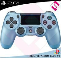 MANDO PS4 DUALSHOCK COLOR TITANIUM BLUE ORIGINAL PLAYSTATION 4 SONY AZUL TITANIO