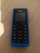 Nokia 105-Cyan Téléphone portable débloqué