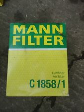 Filtro de aire (Mann-Filter, C 1858/1)