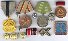Old German, Belgien, USA Lot 14 Item´s WWII - 25 Year GDR Plankommission etc....