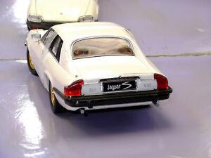 1975 JAGUAR  XJS WHITE CUSTOM RIMS NEW IN BOX 1:18