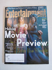 Entertainment Weekly #1335 - Holiday Movie Preview Into The Woods - 31-Oct-2014