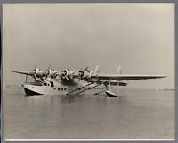 PAN AMERICAN WORLD AIRWAYS PAA CLIPPER SIKORSKY S-42 FLYING BOAT VINTAGE PHOTO