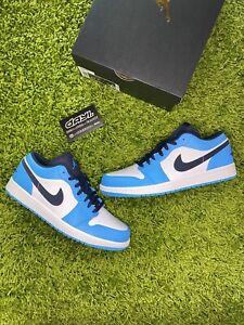 "Nike Air Jordan 1 Low ""UNC / Obsidian"" US 10 / 10.5 / 11 / 12 / 13 ✅"