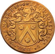 O3576 Jeton Louis XIV Touraine Jacques Bouet Maire 1646 ->Faire offre