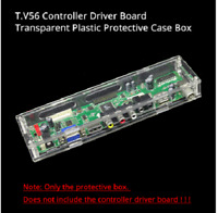 LED/LCD controller board transparent plastic protective case For TV53 drive