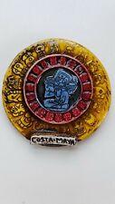 "Costa Maya Mexico Magnet Travel Tourist Souvenir Civilization Glossy Round 2.25"""