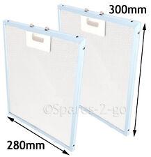DIPLOMAT AAA2370 Genuine Cooker Hood Aluminium Mesh Filters 300 mm x 280 mm 2