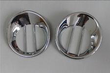 Chrome Rear Fog Light Tail Lamp Cover Trims For Nissan Qashqai Dualis 2007~2013