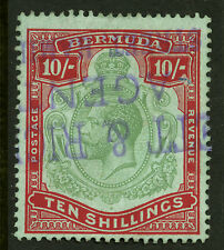 Bermuda  1910-24  Scott # 53  USED - Revenue