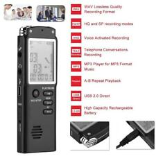 8G/16G Voice Recorder LCD Audio Recording Pen HD Dictaphone Telephone MP3 Player