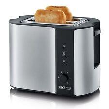 Severin Automatisch 2-slice Toaster + Integrierte Brötchen Wärmer At2589