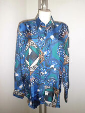 Versace Collection Silk Shirt Uomo Size 44 € 300 00