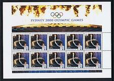 STAMPS  AUSTRALIA   OLYMPIC 2000  OPENING  Ms. ( MNH )  lot 1195