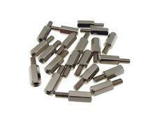 M4*5+6mm Metal Male/Female Standoff Board Spacers Nickel-plated - Pack of 10