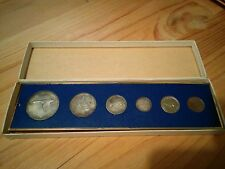 Canada 1967 Animal Set of 6 Coins with 4 Silver Coins, Prooflike