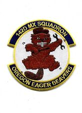 US Air Force 142nd MX Squadron Military Patch
