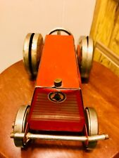 Estate Fresh Vintage 1930's Gong Bell Tractor W/Jingling Wheels