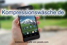 Top-Level. de Domain -> Kompressionswäsche.de <- Keyworddomain