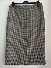 NEXT Check Pencil Skirt 12/14/16 PETITE  RRP £36