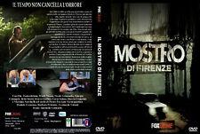 """COFANETTO 3 DVD SERIE TV INEDITA """"IL MOSTRO DI FIRENZE"""""""