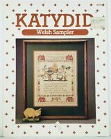 Cross Stitch Chart Welsh Sampler Katydid