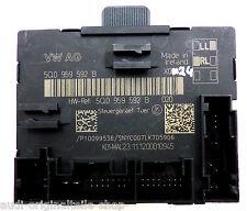 Audi A3 8V S3 DOOR CONTROL UNIT CONTROL UNIT 5Q0959592B Front Right Passenger
