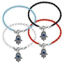Lot of 6 HAMSA Kaballah Bracelets........... Good Luck Strings Against Evil Eye