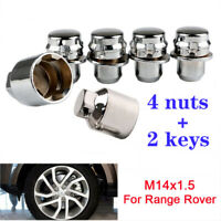M14x1.5 Alloy Locking Wheel Nuts Security Bolts For Range Rover Sport Discovery