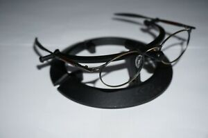 Oakley OO Wire Gold Oxide Frames Tortoise Rx prescription 06-183 Jordan 47 o 20