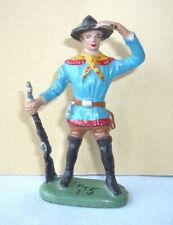 Wildwest - Figur aus Masse : Cowboy stehend spähend von LEYLA