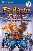 Fantastic Four: The World's Greatest Superteam (DK Readers: Level 3), Kelly, Nei
