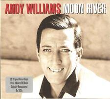 ANDY WILLIAMS MOON RIVER - 3 CD BOX SET - SECRET LOVE, DANNY BOY & MORE