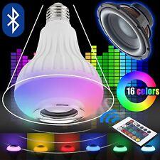 E27 SMART Led Lampadina Controllo Bluetooth colore RGB Musica Altoparlante TIMER