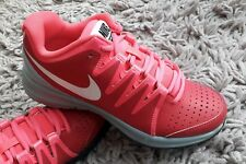 new photos c8fe7 3c488 NIKE AIR VAPOR COURT WOMENS GIRLS TENNIS SHOES TRAINERS SIZE UK 4.5 PINK GYM