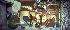 LOT 1: 8x10 photos of MIKE MINOR Rec Room art for STAR TREK THE MOTION PICTURE