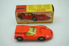 VINTAGE DINKY TOYS CAR ALFA ROMEO OSI SCARABEO NO 217 ORIGINAL BOX DIECAST NEON