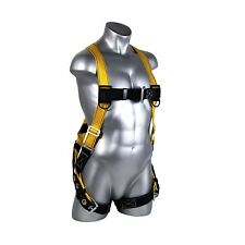 Fall Protection Harness Equipment Prevention Safety Dual Lanyard Climbing Gear