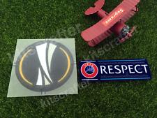 Europa League 2015-2019 Soccer Sleeve Patch Set + Respect